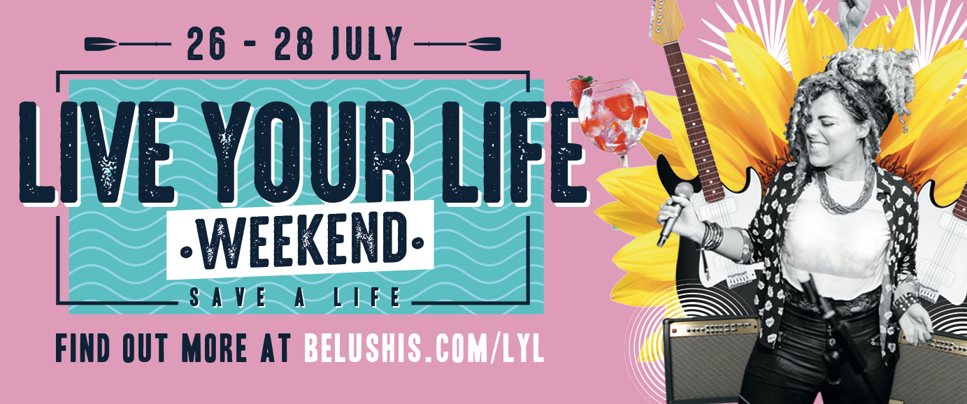 Live Your Life Weekend Banner